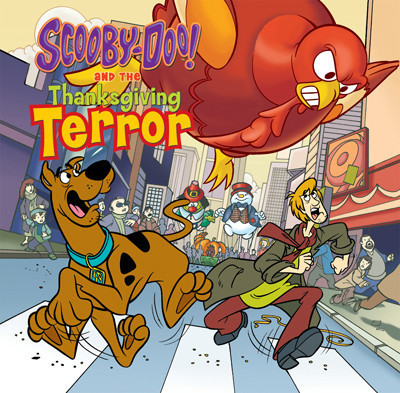 Cover: Scooby-Doo and the Thanksgiving Terror