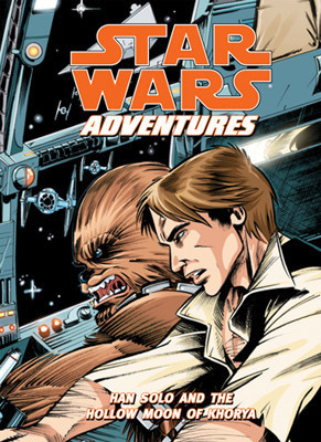 Cover: Star Wars Adventures: Han Solo and the Hollow Moon of Khorya