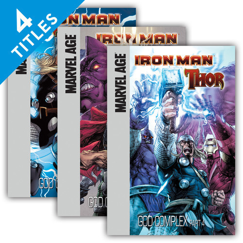 Cover: Iron Man and Thor