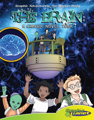 Cover: Brain:A Graphic Novel Tour
