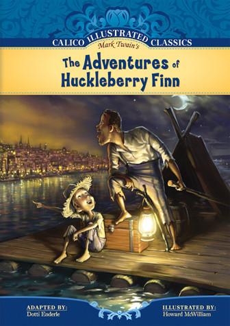 Cover: Adventures of Huckleberry Finn