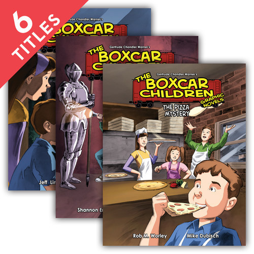 Cover: Boxcar Children Graphic Novels Set 2