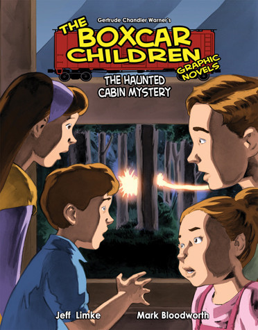Cover: Book 9: The Haunted Cabin Mystery