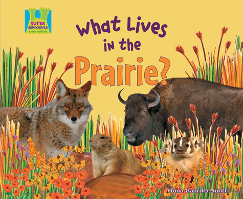 Cover: What Lives in the Prairie?