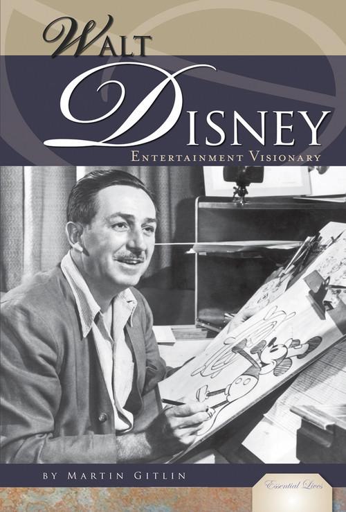 Cover: Walt Disney: Entertainment Visionary
