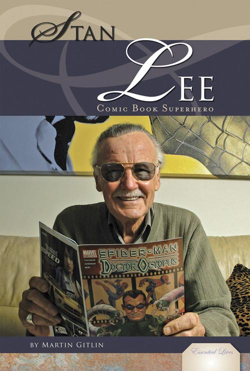 Cover: Stan Lee: Comic Book Superhero