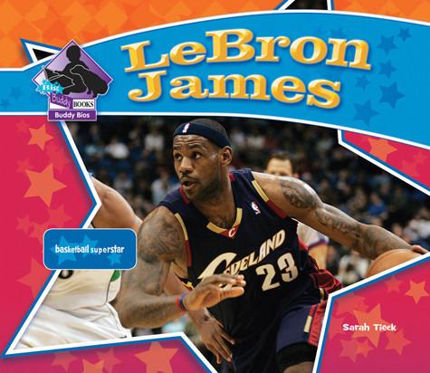 Cover: LeBron James: Basketball Superstar
