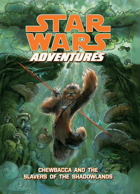 Cover: Star Wars Adventures: Chewbacca and the Slavers of the Shadowlands