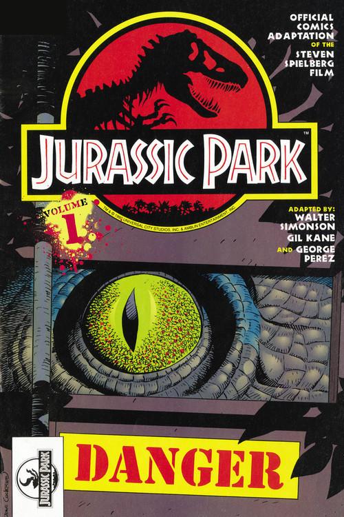 Cover: Jurassic Park Vol. 1: Danger