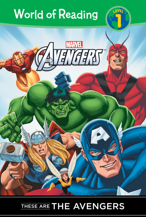 Cover: These are Avengers