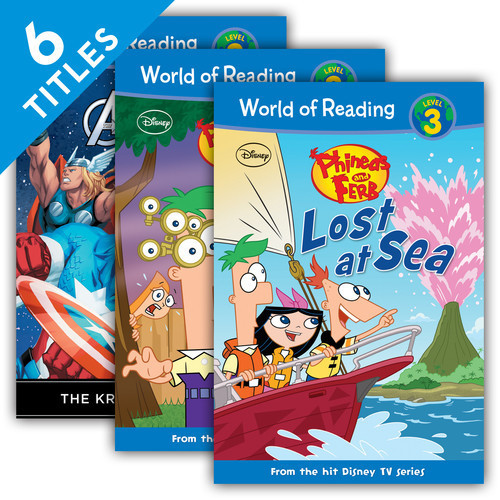 Cover: World of Reading Level 3 Set 1