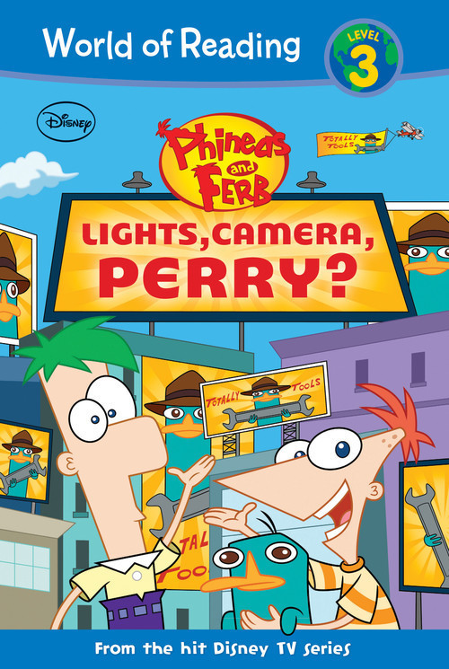 Cover: Phineas and Ferb: Lights, Camera, Perry?