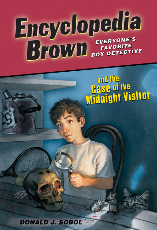 Cover: Encyclopedia Brown and the Case of the Midnight Visitor