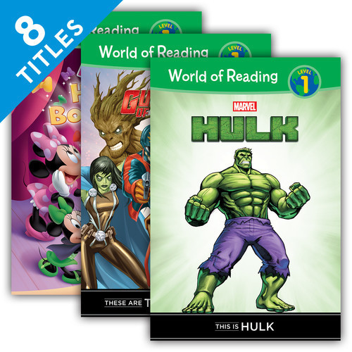 Cover: World of Reading Level 1 Set 2