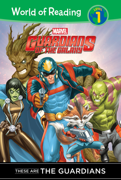 Cover: Guardians of the Galaxy: These are the Guardians