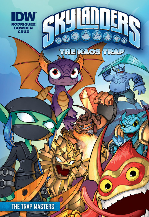 Cover: The Kaos Trap: The Trap Masters