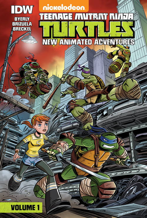 Cover: Teenage Mutant Ninja Turtles: New Animated Adventures: Volume 1