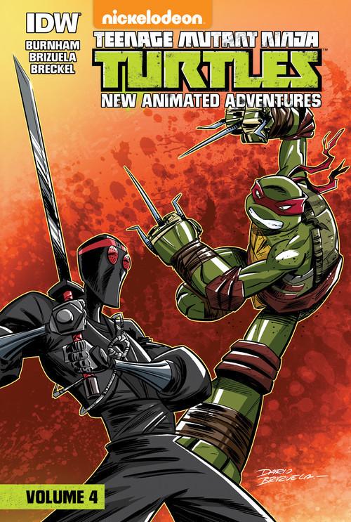 Cover: Teenage Mutant Ninja Turtles: New Animated Adventures: Volume 4