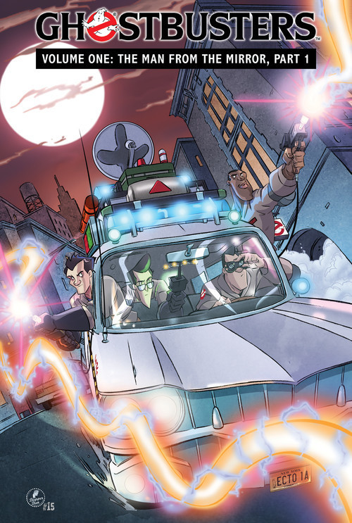 Cover: Ghostbusters Volume 1: The Man from the Mirror, Part 1