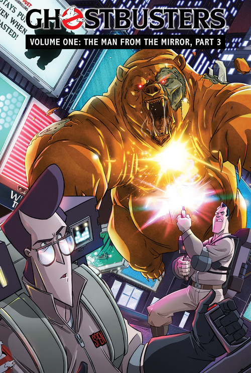 Cover: Ghostbusters Volume 1: The Man from the Mirror, Part 3