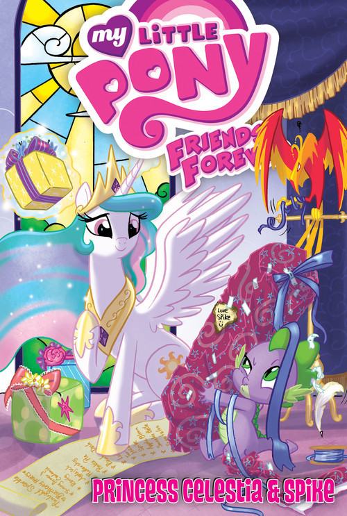 Cover: Princess Celestia & Spike