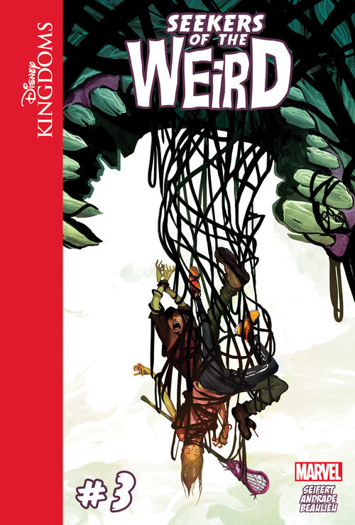 Cover: Disney Kingdoms: Seekers of the Weird #3