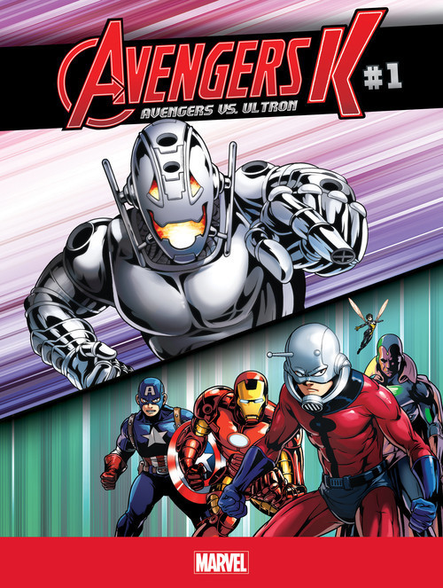 Cover: Avengers vs. Ultron #1