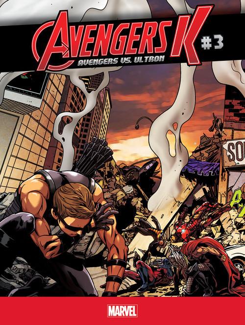 Cover: Avengers vs. Ultron #3