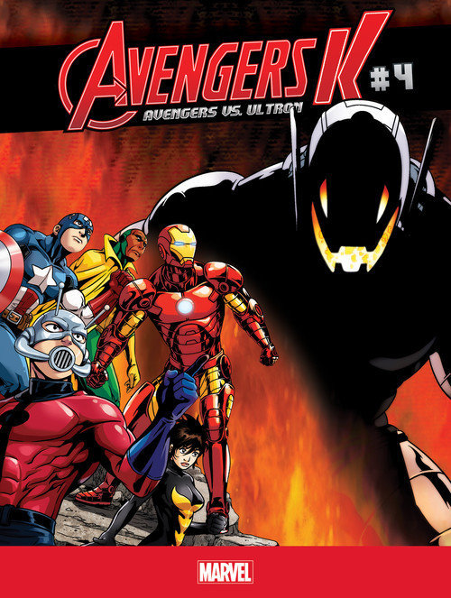 Cover: Avengers vs. Ultron #4