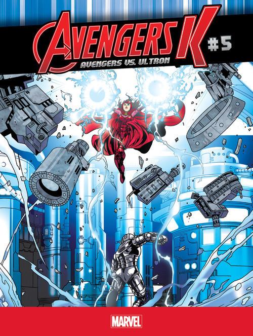 Cover: Avengers vs. Ultron #5