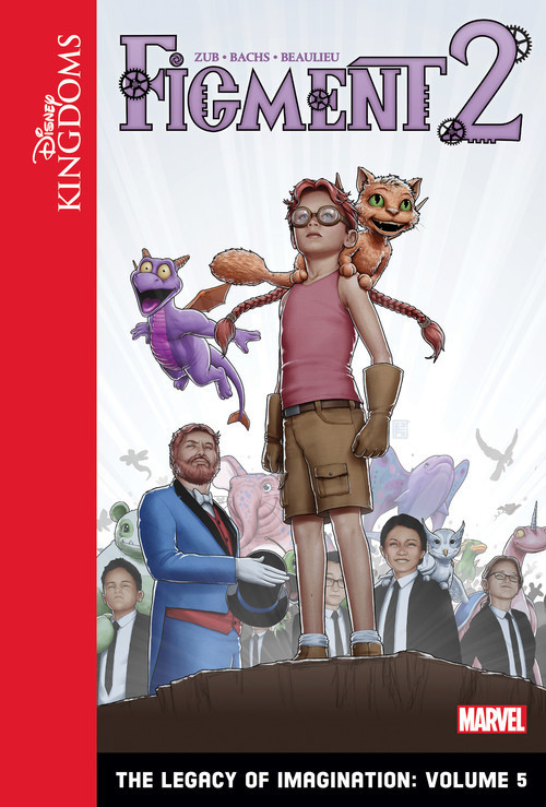 Cover: Figment 2: The Legacy of Imagination: Volume 5
