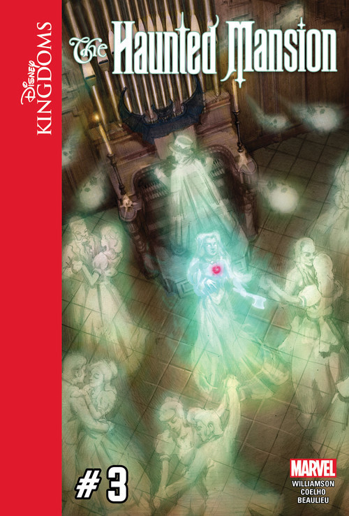 Cover: Disney Kingdoms: The Haunted Mansion #3