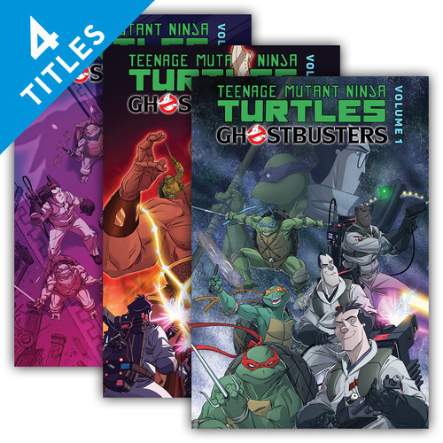 Cover: Teenage Mutant Ninja Turtles/Ghostbusters