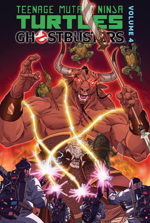 Cover: Teenage Mutant Ninja Turtles/Ghostbusters: Volume 4