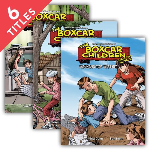 Cover: Boxcar Children Graphic Novels Set 3
