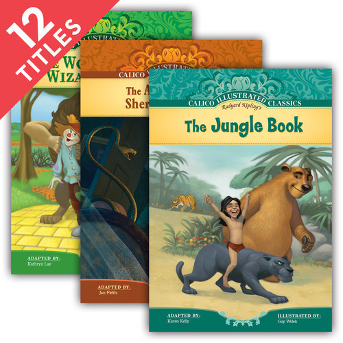 Cover: Calico Illustrated Classics Set 4