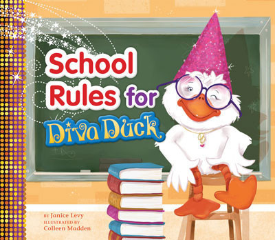 Cover: School Rules for Diva Duck