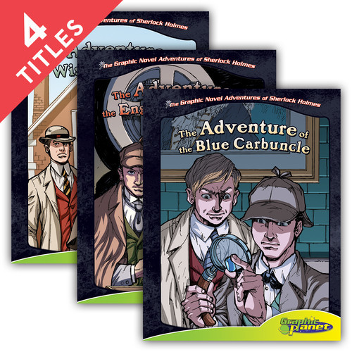 Cover: Graphic Novel Adventures of Sherlock Holmes Set 2