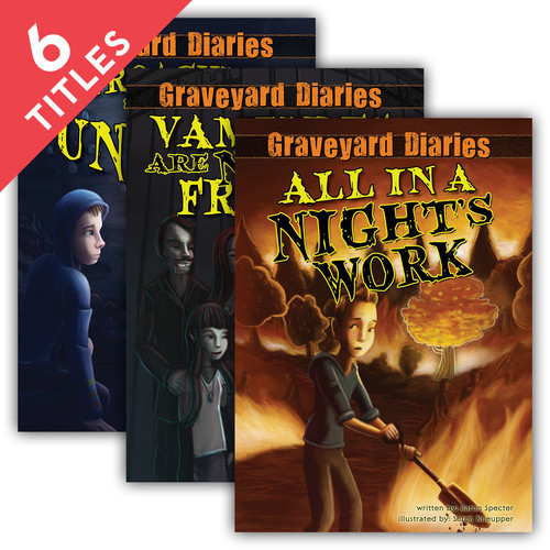 Cover: Graveyard Diaries Set 1
