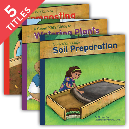 Cover: Green Kid's Guide to Gardening!