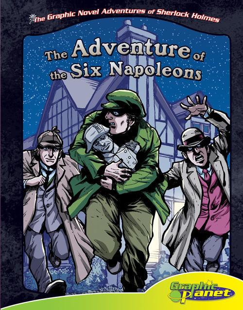 Cover: Adventure of the Six Napoleons