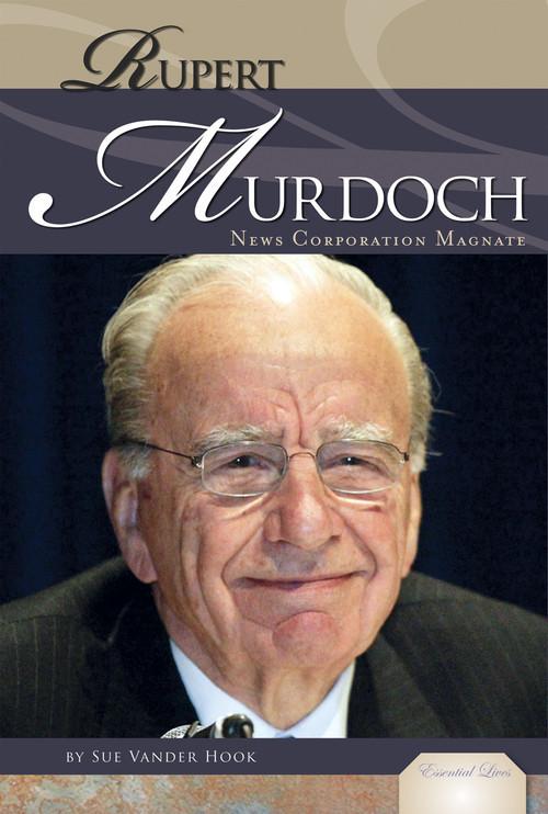 Cover: Rupert Murdoch: News Corporation Magnate