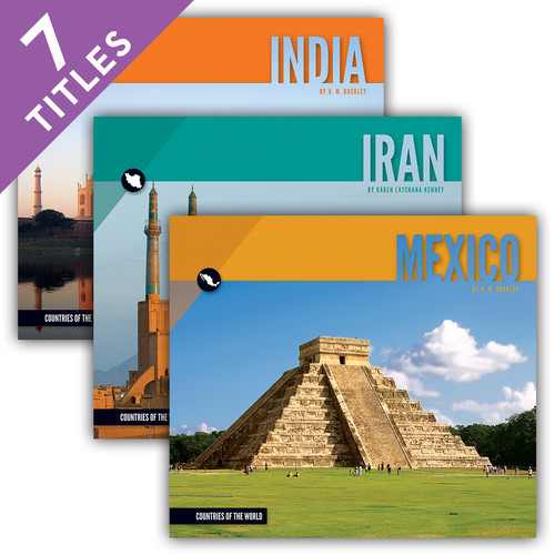 Cover: Countries of the World Set 1