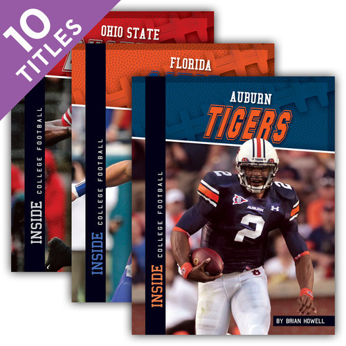 Cover: Inside College Football Set 1