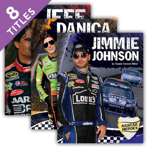 Cover: NASCAR Heroes: Racing Biographies