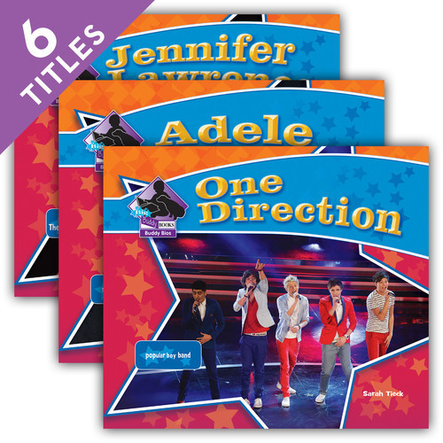 Cover: Big Buddy Biographies Set 9