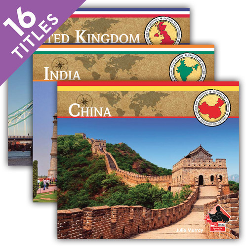 Cover: Explore the Countries Set 1