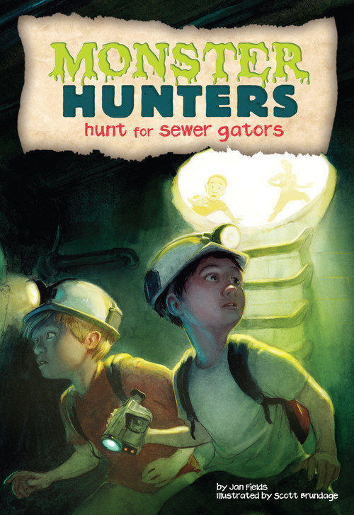 Cover: Hunt for Sewer Gators