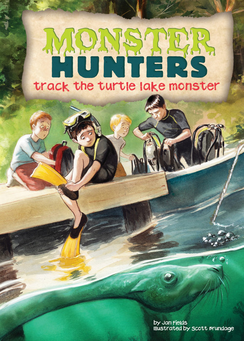 Cover: Track the Turtle Lake Monster