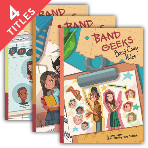 Cover: Band Geeks Set 2